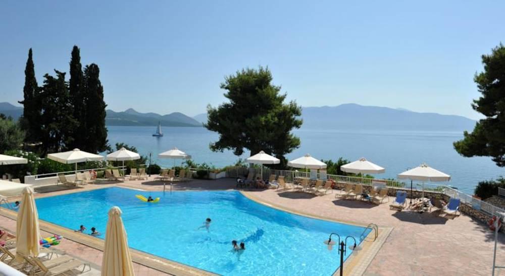 Holidays at Porto Galini Hotel in Nikiana, Lefkas