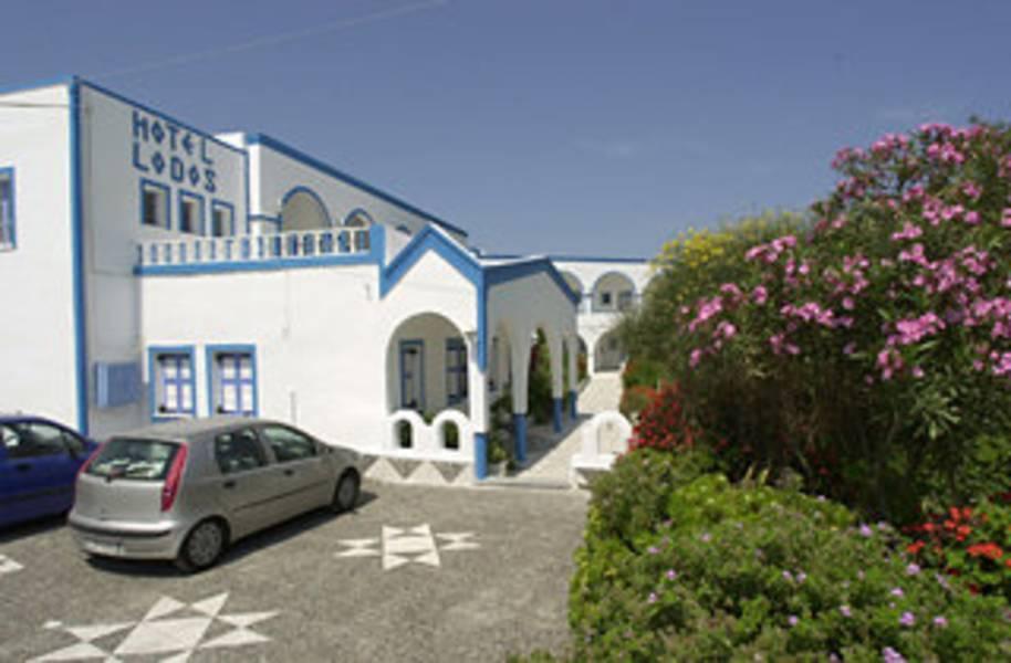 Holidays at Lodos Hotel in Karterados, Santorini