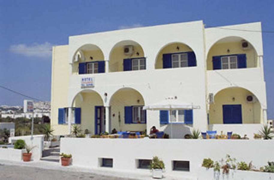 Holidays at Cyclades Hotel in Karterados, Santorini