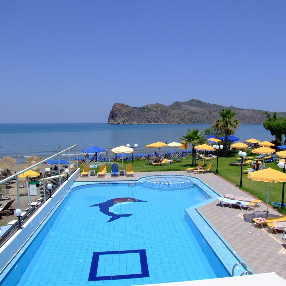 San Marina Apartments: Coral Beach Hotel Apartments, Agia Marina, Crete, Greece