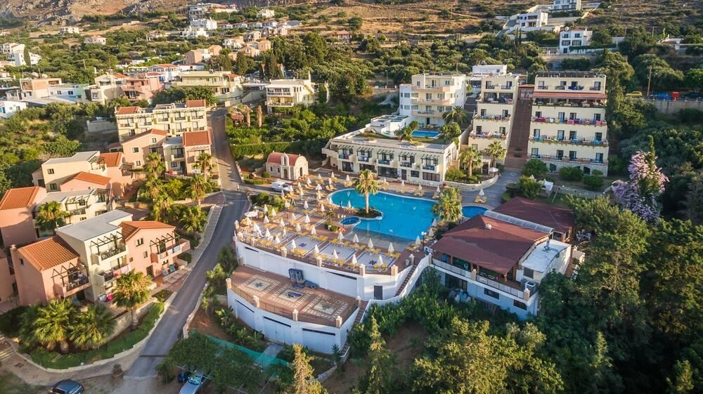 Holidays at Asterias Village Hotel in Piskopiano, Hersonissos