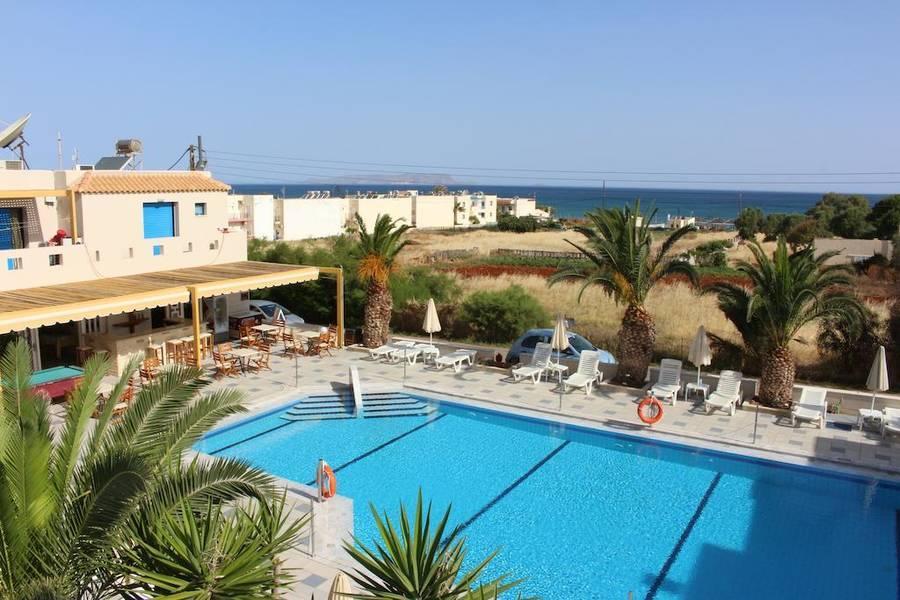 Holidays at Venus Mare Apartments in Analipsi Hersonissos, Hersonissos