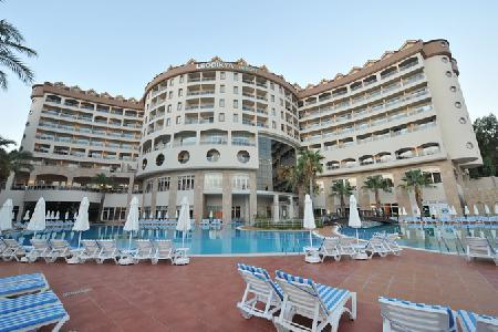 Holidays at Kirman Leodikya Resort in Okurcalar, Antalya Region