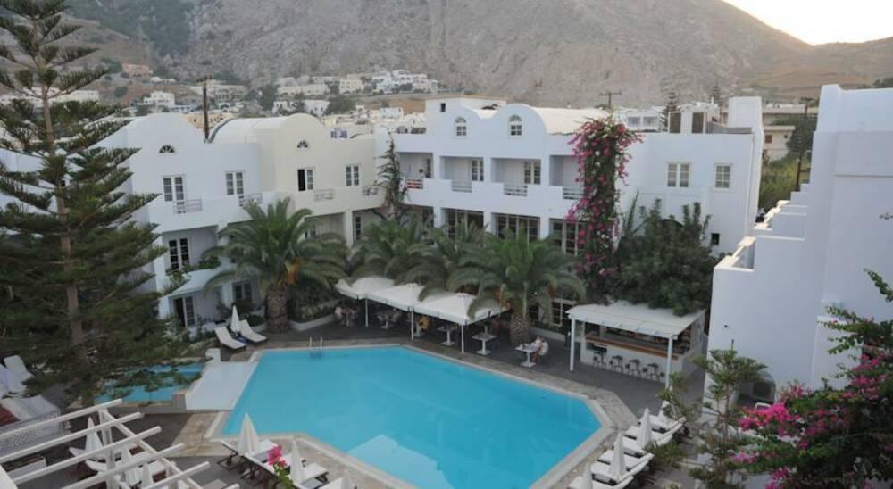 Holidays at Afroditi Venus Beach Hotel & Spa in Kamari, Santorini
