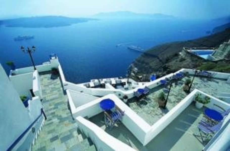 Holidays at Loucas Hotel in Fira, Santorini
