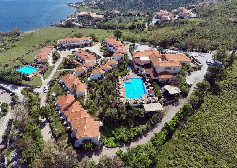 Holidays at Belvedere Aeolis Hotel in Molyvos, Lesvos