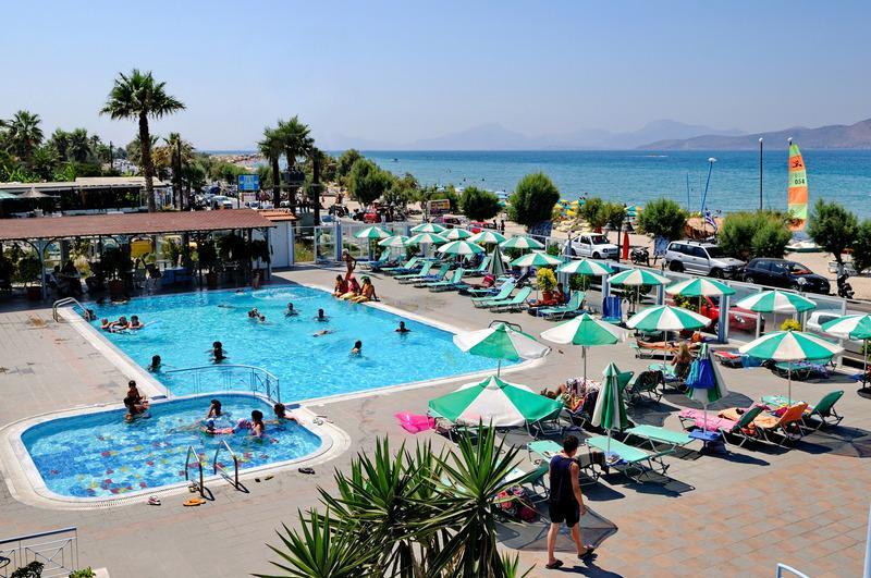 Holidays at Akti Dimmis Apartments in Tingaki, Kos
