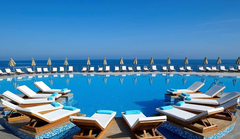 Holidays at Royal Blue Resort and Spa in Panormos, Crete