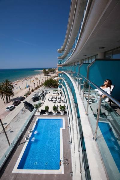 Holidays at Allon Mediterrania Hotel in Villajoyosa, Costa Blanca
