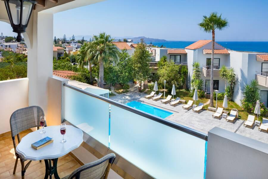 Holidays at Nireas Hotel in Daratsos, Chania