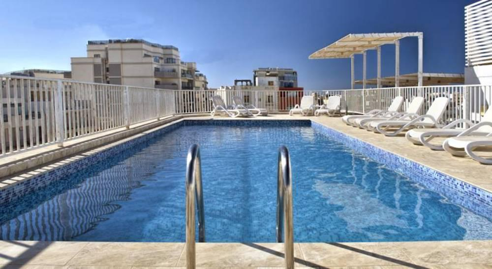 Holidays at Argento Hotel in St Julians, Malta