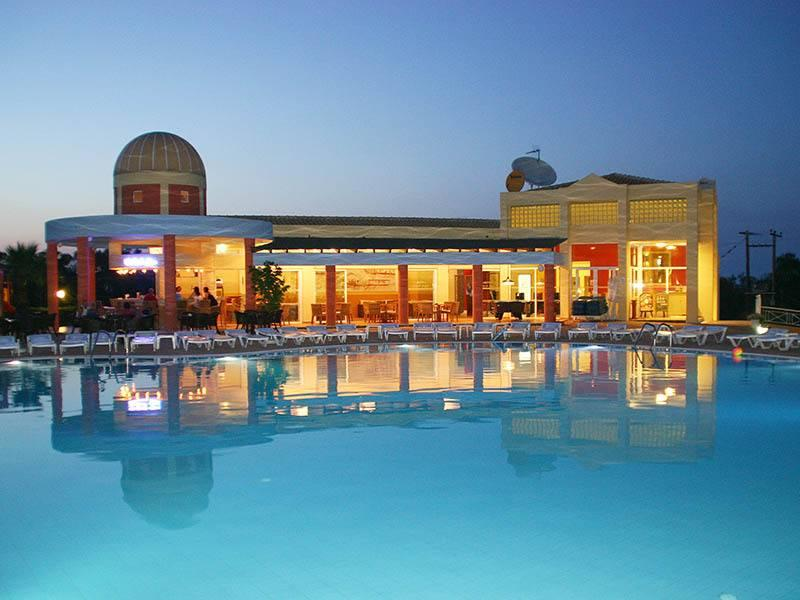 Holidays at Olympion Village Hotel in Kavos, Corfu