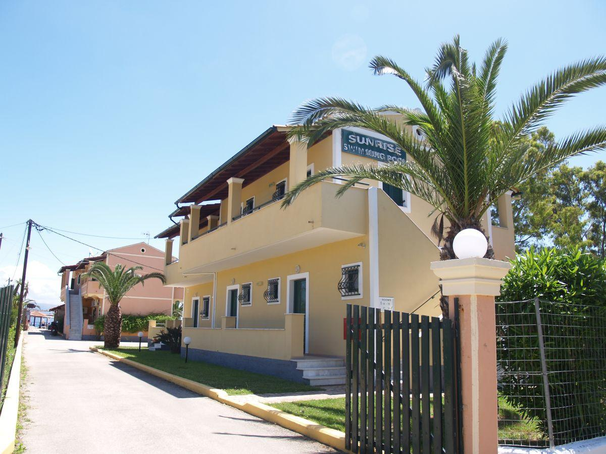 Sunrise Apartments, Kavos, Corfu, Greece. Book Sunrise ...