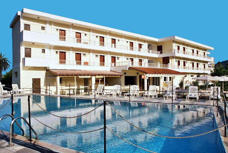 Holidays at Prassino Nissi Hotel in Moraitika, Corfu