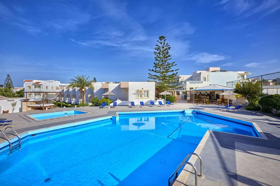 Holidays at Klio Apartments in Gouves, Crete