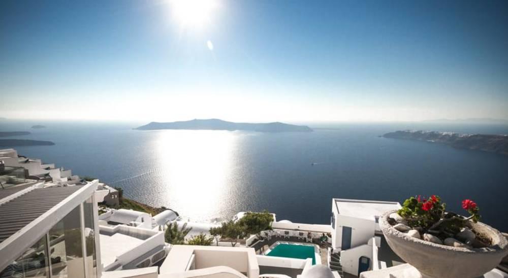 Holidays at Galaxy Suites Hotel in Imerovigli, Santorini