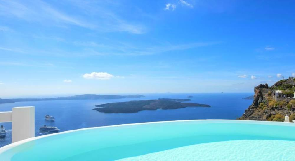 Holidays at Aqua Luxury Suites Hotel in Imerovigli, Santorini