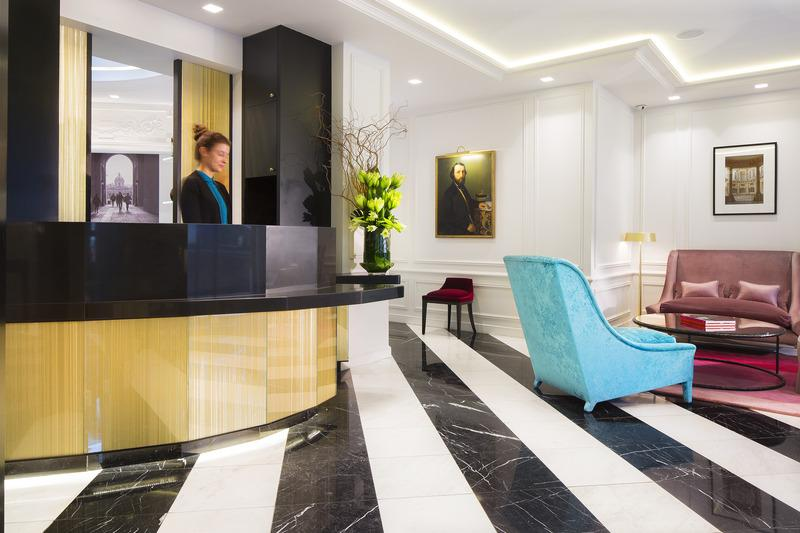 Holidays at Bourgogne Et Montana Hotel in Tour Eiffel & Musee D'Orsay (Arr 7), Paris