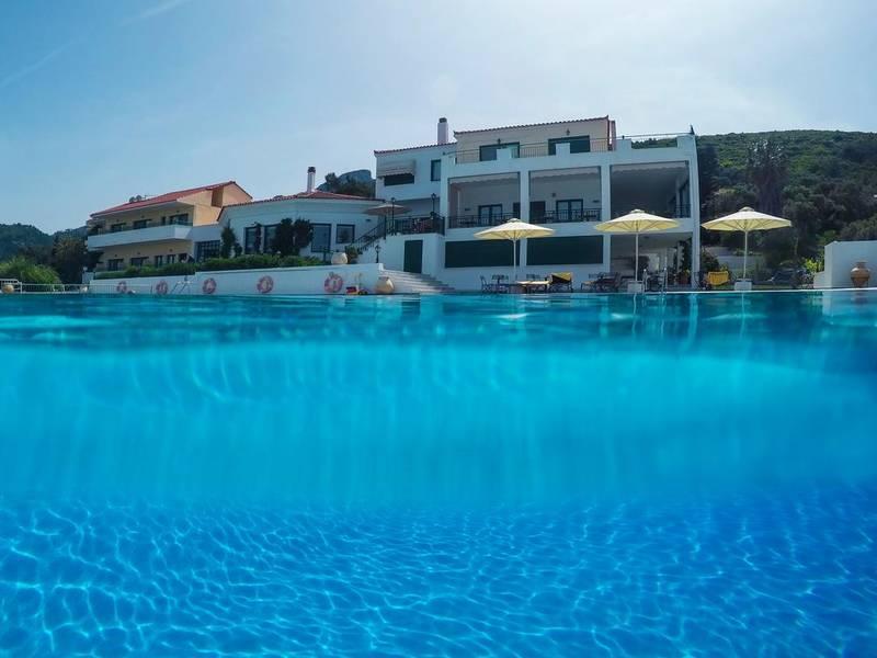 Holidays at Kalidon Panorama Hotel in Kokkari, Samos