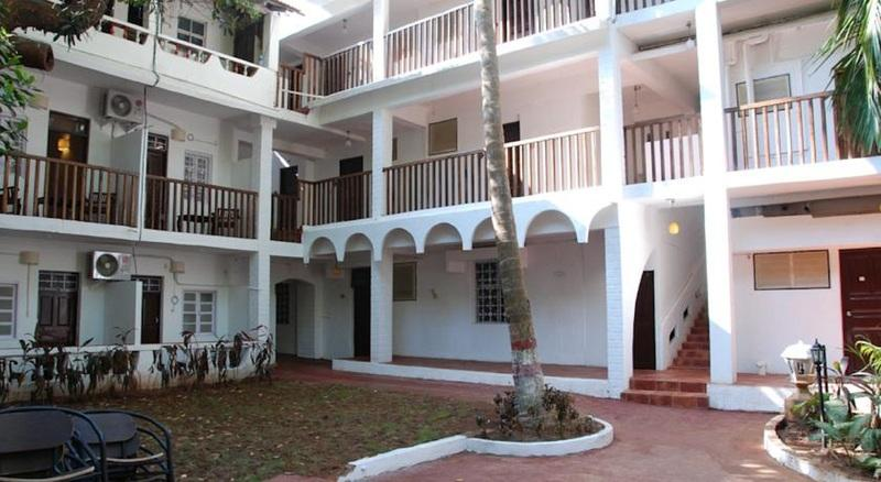 Holidays at Villa Fatima Beach Resort in Baga Beach, India