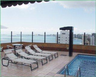 Holidays at Plaza Praia Suites Hotel in Fortaleza, Brazil