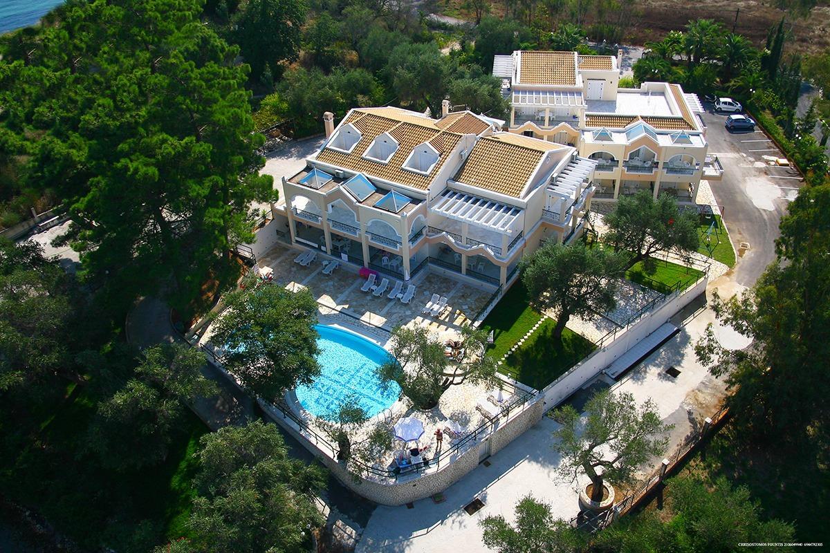 Holidays at Saint Nicholas Beach Apartments in Dassia, Corfu