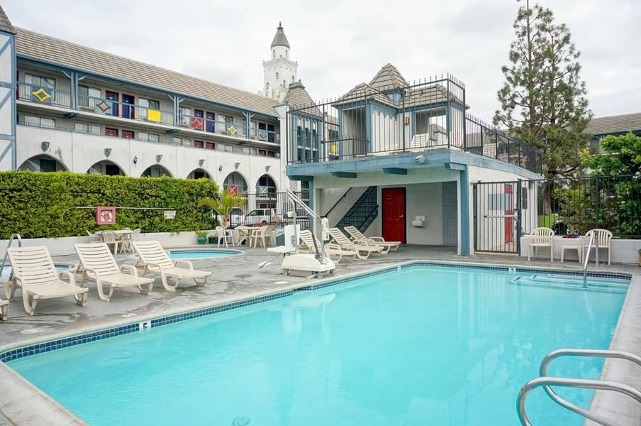 Holidays at Castle Inn And Suites Hotel in Anaheim, California