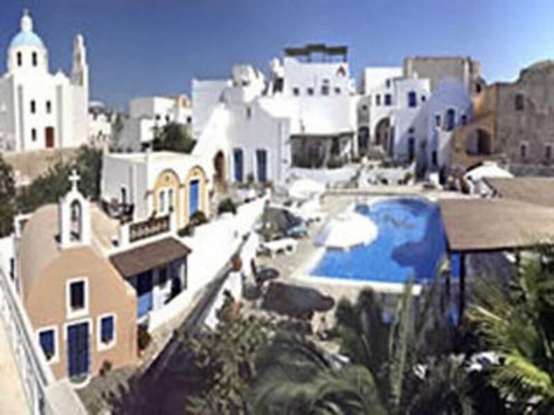 Holidays at Aethrio Hotel in Oia, Santorini