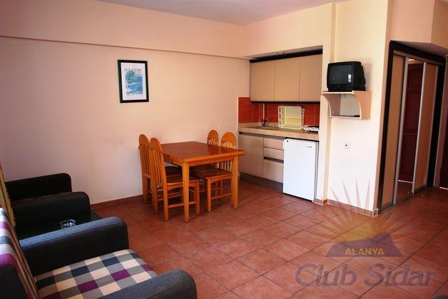 Holidays at Club Sidar Apartments in Alanya, Antalya Region