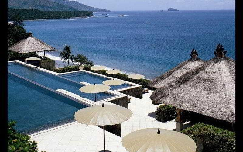 Holidays at Amankila Hotel in Karangasem, Candidasa