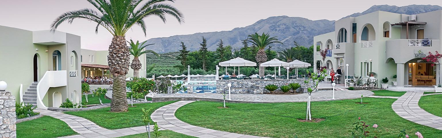 Holidays at Vardis Olive Garden Hotel in Kavros, Crete