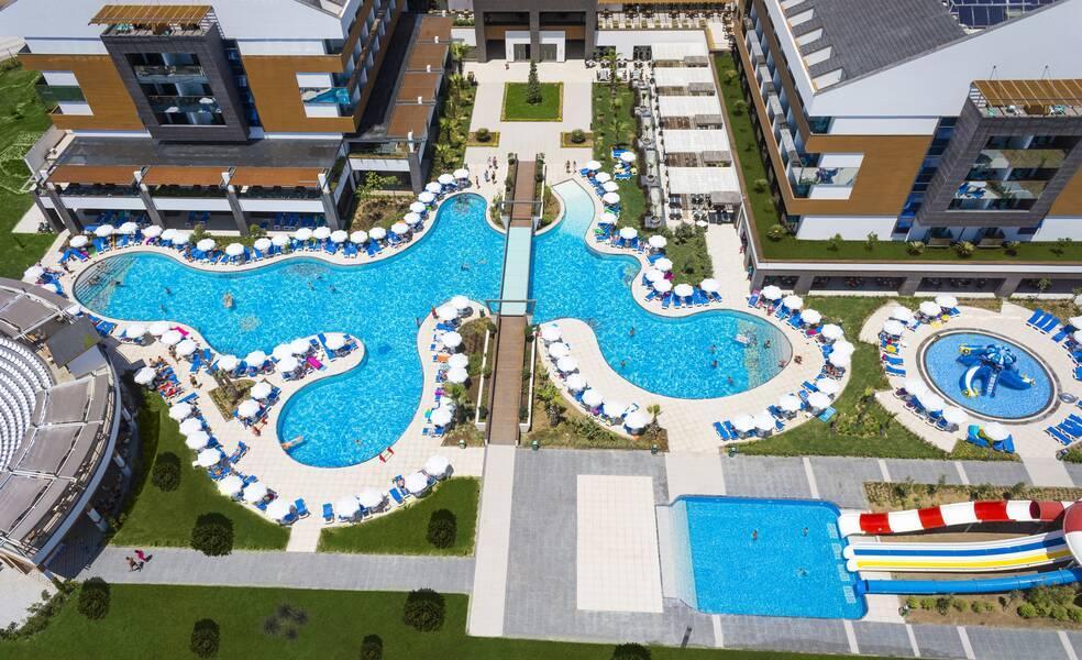 Holidays at Terrace Elite Resort Hotel in Colakli, Side