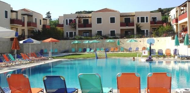 Holidays at Kambos Village Hotel in Agia Marina, Crete