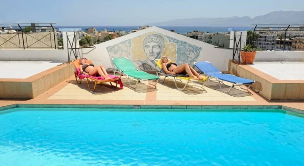 Holidays at Apollo Apartments in Hersonissos, Crete