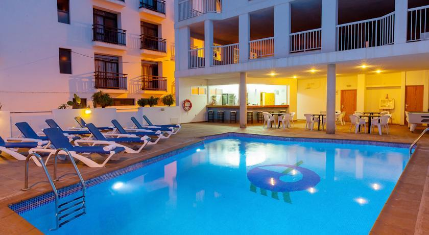 Holidays at Galera Hostal in San Antonio, Ibiza