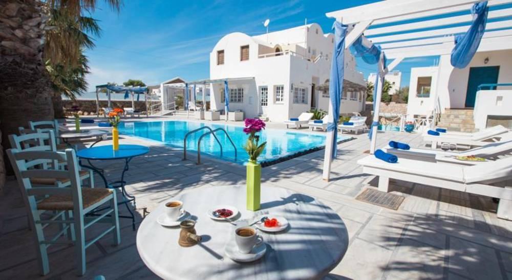Holidays at Iliada Hotel in Perivolos, Perissa