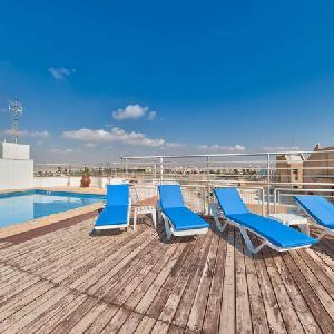 Holidays at Mackenzie Beach Hotel & Apartments in Larnaca, Cyprus