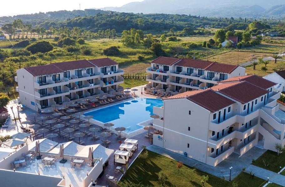 Holidays at Angela Beach Hotel in Astrakeri Beach, Roda