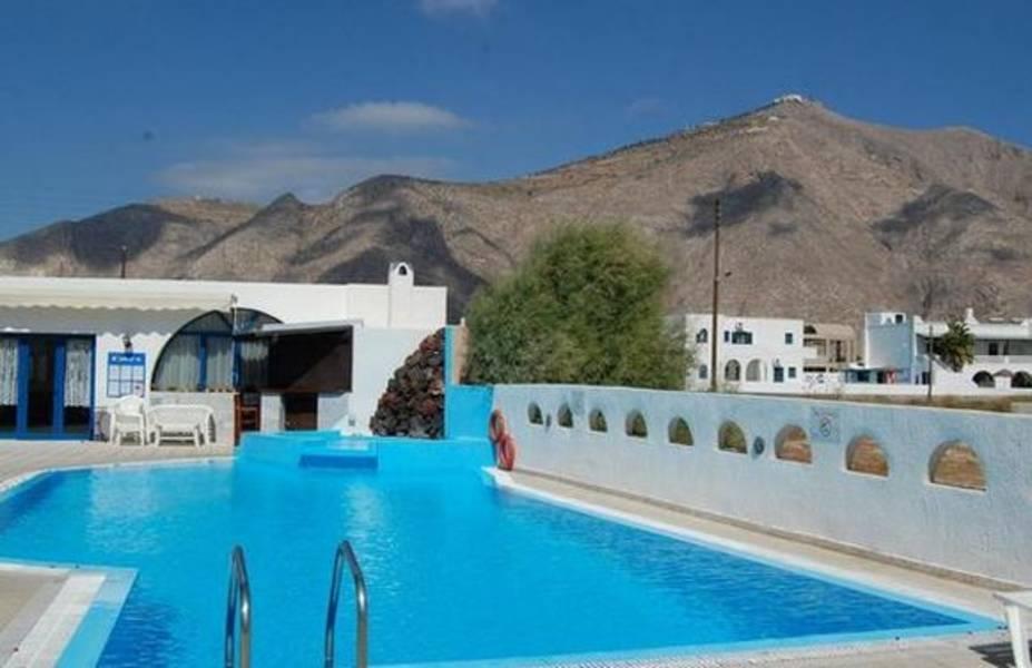 Holidays at Limnes Villas in Perissa, Santorini