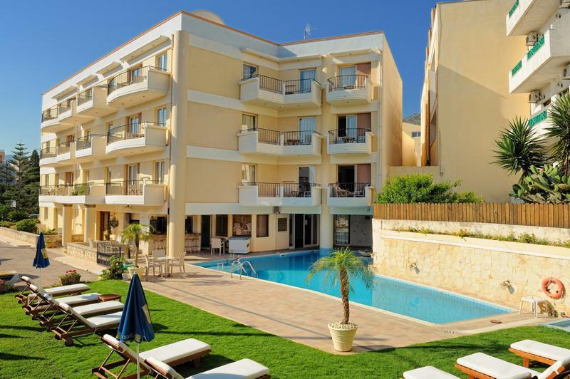 Holidays at Lefteris Apartments in Hersonissos, Crete