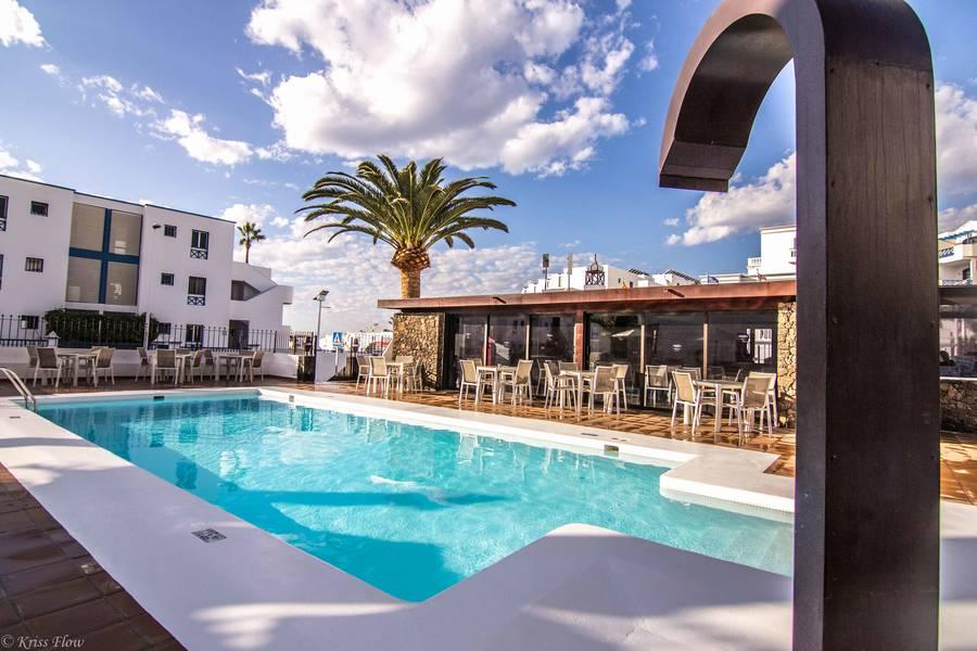 Holidays at Club Atlantico Apartments in Puerto del Carmen, Lanzarote