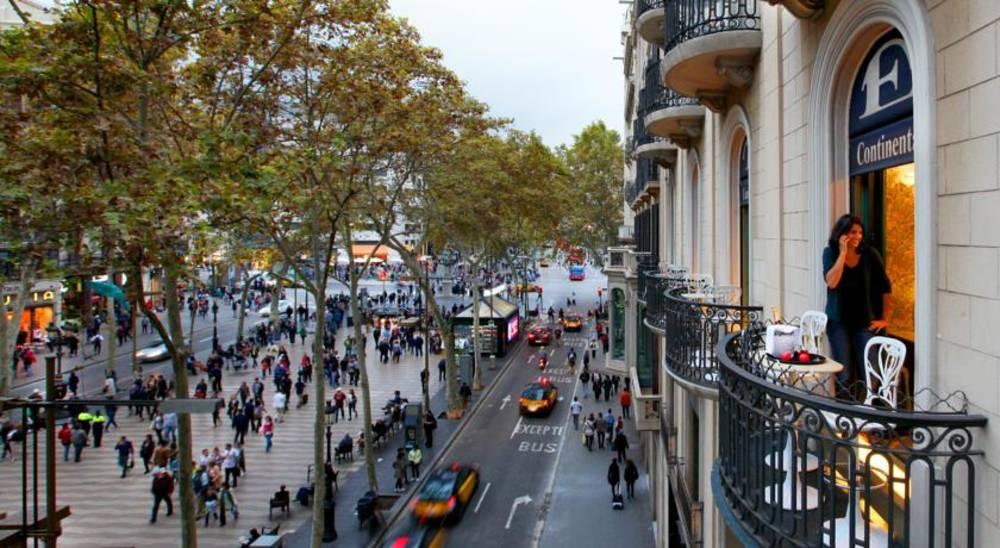 Holidays at Continental Barcelona Hotel in Las Ramblas, Barcelona