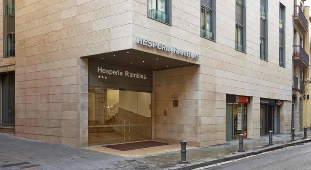 Holidays at Hesperia Ramblas Hotel in Las Ramblas, Barcelona