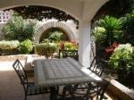 Outdoor Seating Area at Clansani Tenerife