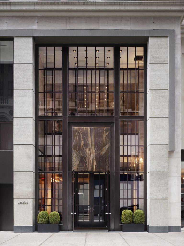 Andaz wall street new york new york usa book andaz for New hotel design