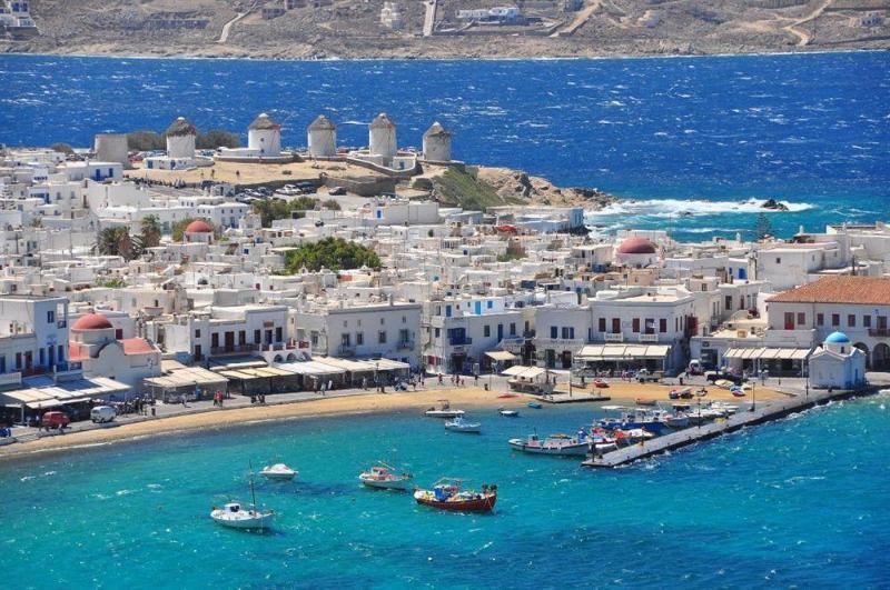 Holidays at Gorgona Hotel in Mykonos Town, Mykonos