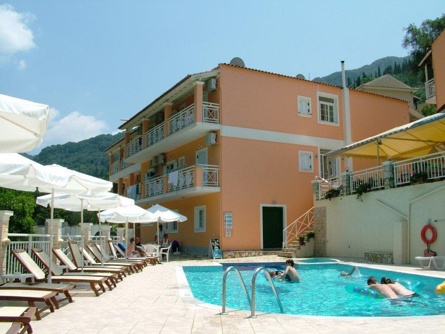 Holidays at Angelica Aparthotel in Agios Gordios, Corfu