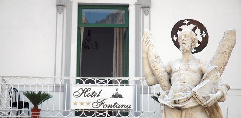 Holidays at Fontana Hotel in Amalfi, Neapolitan Riviera