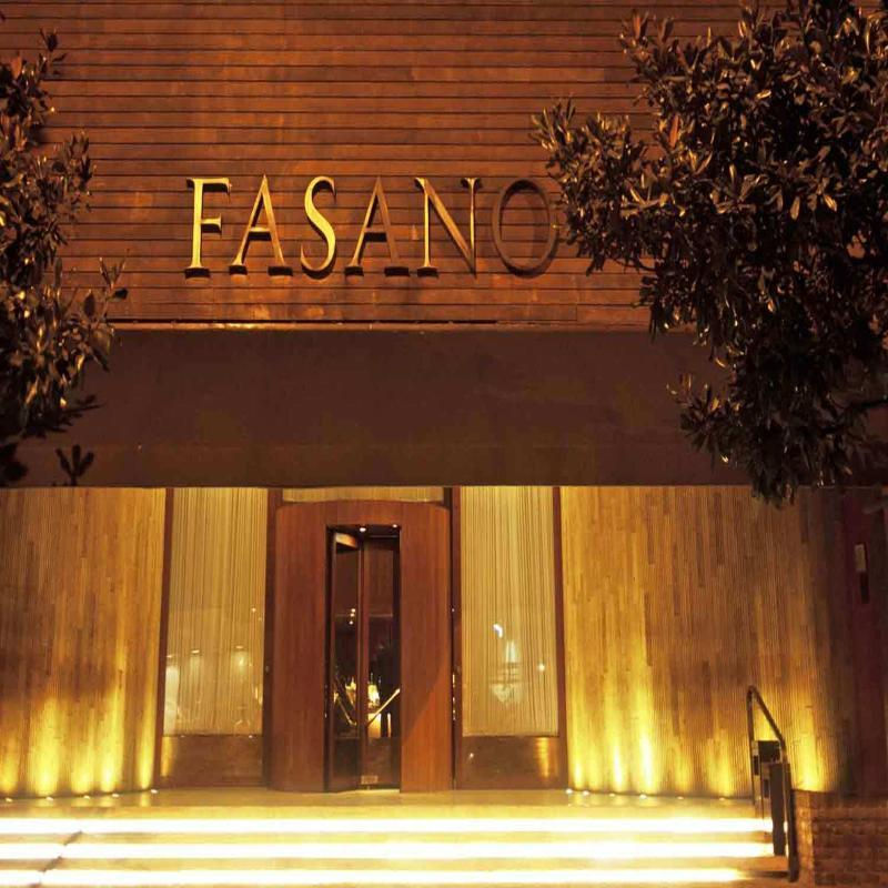 Holidays at Fasano Hotel in Sao Paulo, Brazil