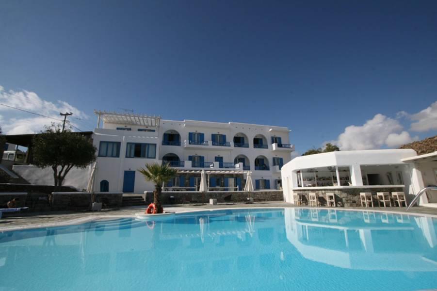 Holidays at Argo Hotel in Plati Gialos, Mykonos